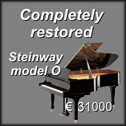 Completely restored - Steinway & Sons model O