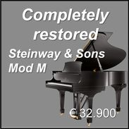 Promo Steinway & Sons Mod M
